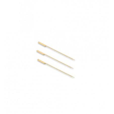Pinchos Bambu 105 mm Con Agarrador(Bolsas 100 unidades)