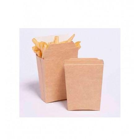 Etui fermé pour Frites (Paquet 25 unités)