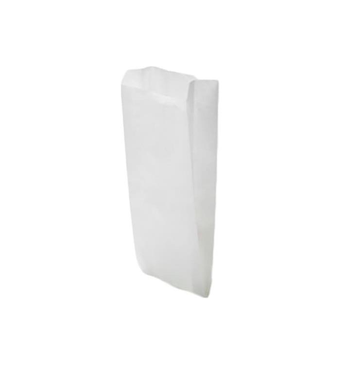 Sac Papier Blanc 12+6x20cm (250 Unités)