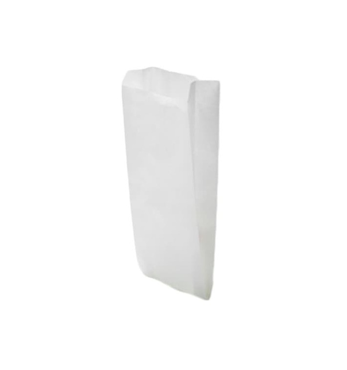Sac Papier Blanc 9+5x32cm (1000 Unités)