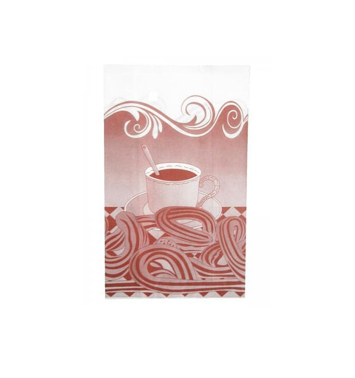 Sac Pour Churros Ingraissable 18+7x32 cm (250 Utés)