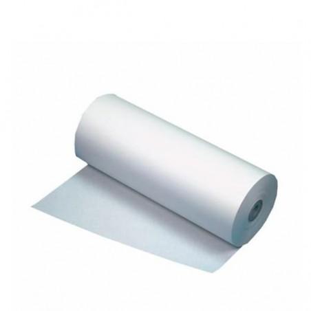 Nappe en papier en ROULEAU Blanche 1x100m 40g (1 Unité)