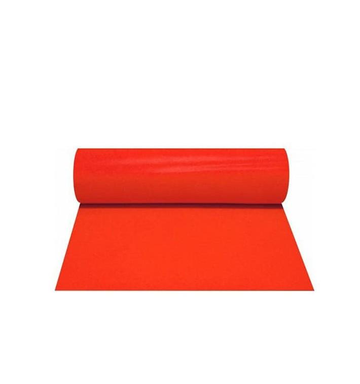 Chemin de Table PP Non Tissé 40x100cm Rouge 50g (500 Utés)