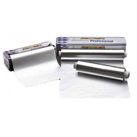Bobina de Aluminio  40 cm X 300 metros 13 micras 3,1Kg