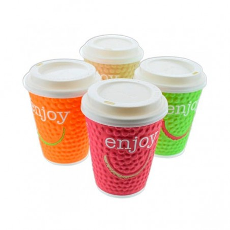 "Gobelet Carton ""Enjoy"" 16oz/495ml (560 Utés)"