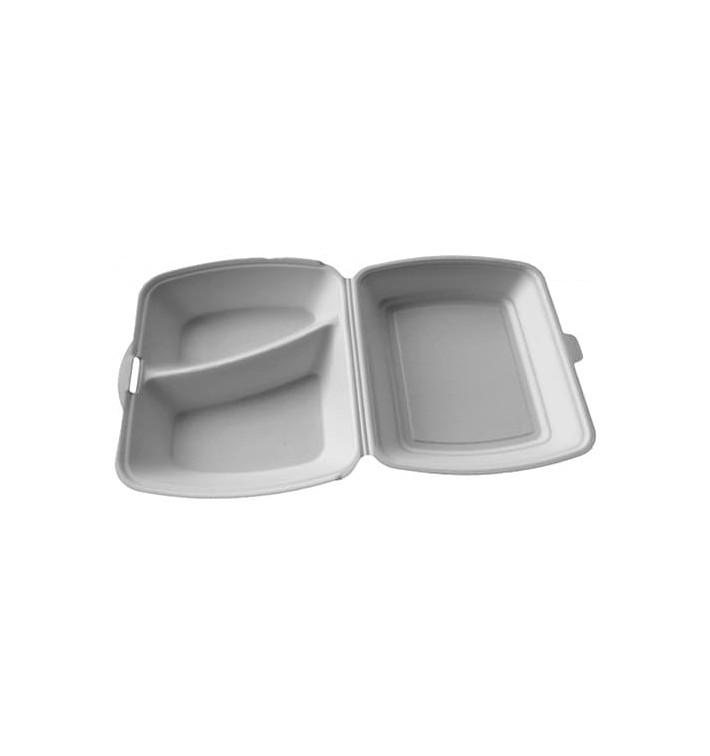 Boîte en FOAM 2 Compartiments 240x210x70mm (200 Unités)