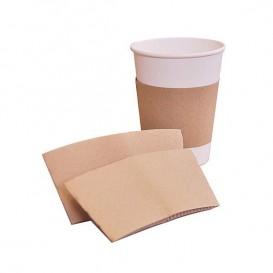 Bague pour Gobelet en Carton Ondulé Ø7 x h6 cm (100 Unités)