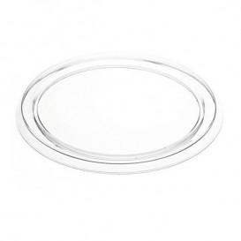 Couvercle PVC pour Flan Aluminium 127ml (100 Utés)
