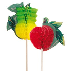Piques de Décoration Fruit 20cm (100 Utés.)