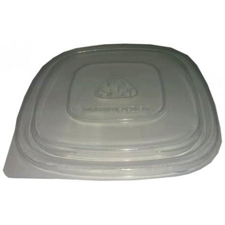 Tapa para Envase Cuadrado 500ml Negro (500Uds)