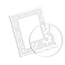 Dentelle Rectangle en papier 30,5x40cm (250 unités)