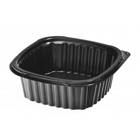 Barquette Plastique Noire PP 500ml (100Utés)