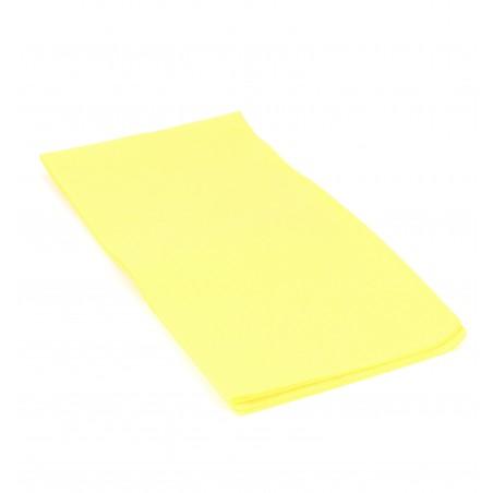 Serviette en papier 1/8 40X40 Jaune (1.200 Unités)