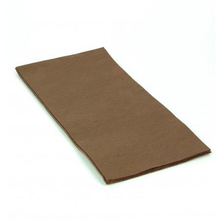 Serviette en papier 1/8 40X40 MARRON (1.200 Unités)