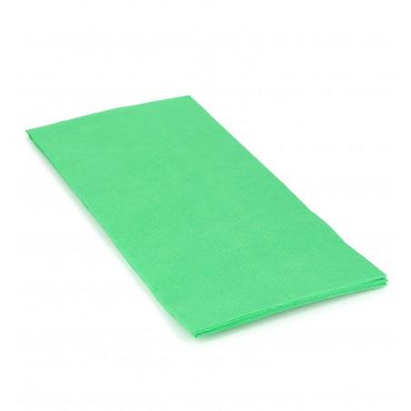 Serviette en papier 1/8 40X40 VERT POMME (50 Unités)