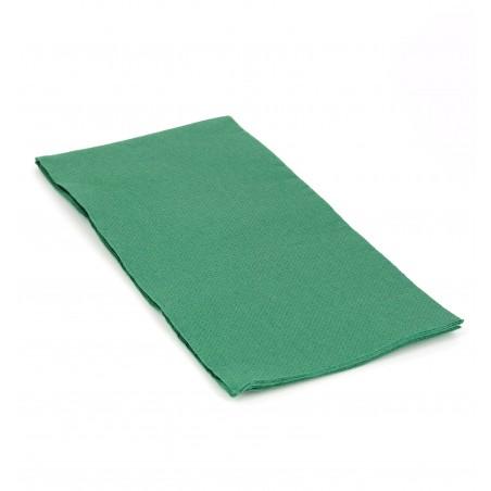Serviette en papier 1/8 40X40 VERT (1.200 Unités)
