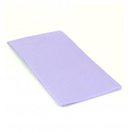 Serviette en papier 1/8 40X40 VIOLET (1.200 Unités)