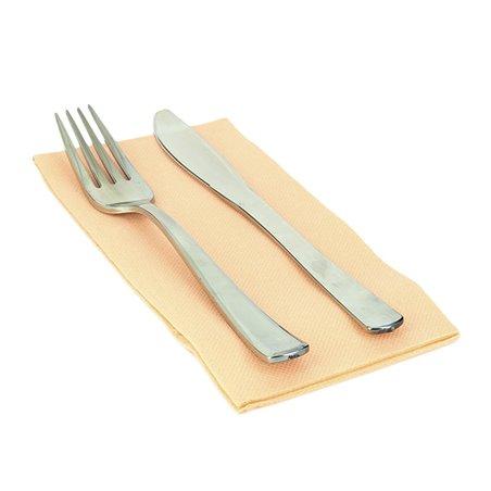 Serviette en papier 1/8 40X40 SAUMON (1.200 Unités)