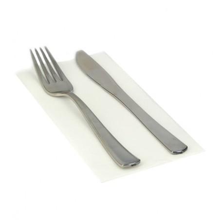 Serviette en papier 1/8 40X40 BLANC (50 Unités)