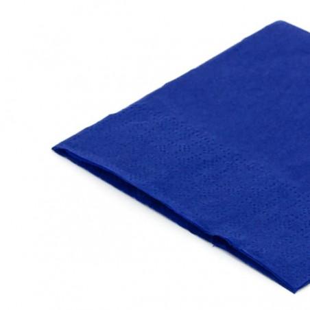 Serviette cocktail 20x20 Bleu (3.000 Unités)