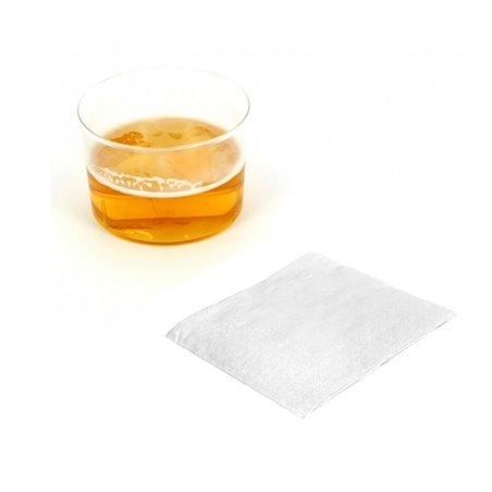 Serviette à Cocktail 20x20cm Blanche (100 Unités)