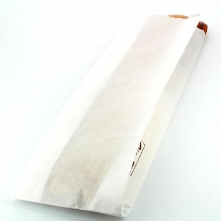 Sac Papier Blanc 9+5x32cm (250 Unités)