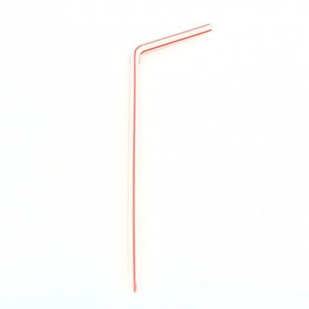 Pailles Flexibles  Ø5mm 22cm (50 Unités)