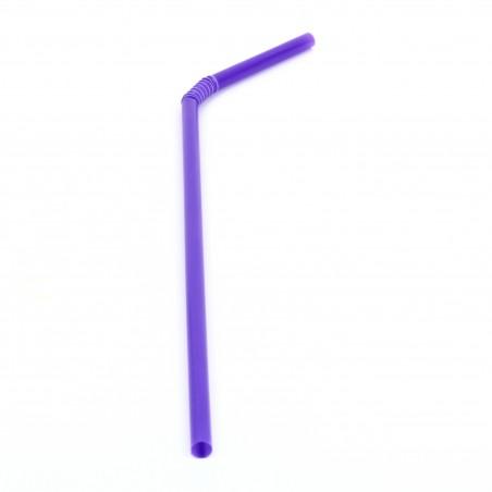Pailles Flexible Ø5mm 21cm (20.000 Unités)