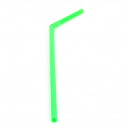 Pailles Flexible Ø5mm 21cm (100 Unités)