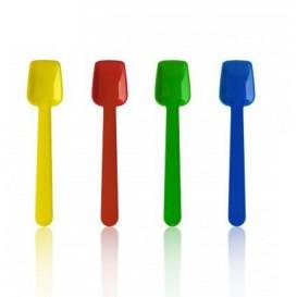 Plastic ijs lepel  9 cm (1000 eenheden)