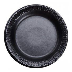 """Schuim bord """"Quiet Classic"""" gelamineerd zwart Ø18 cm (125 stuks)"""