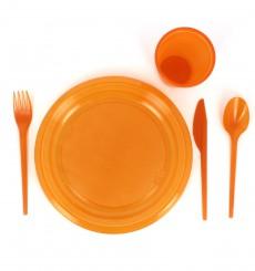 Couteau Plastique Orange de 165mm (900 Unités)