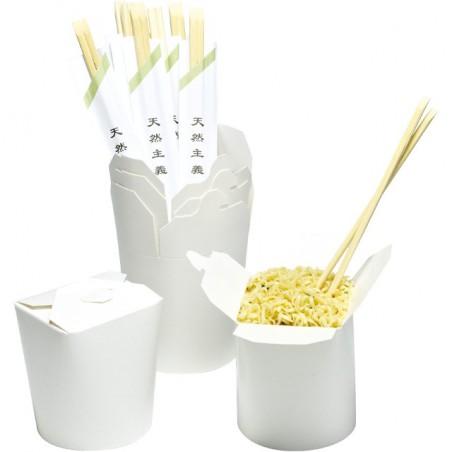 Boîte à Emporter Blanc 529ml (50 Unités)