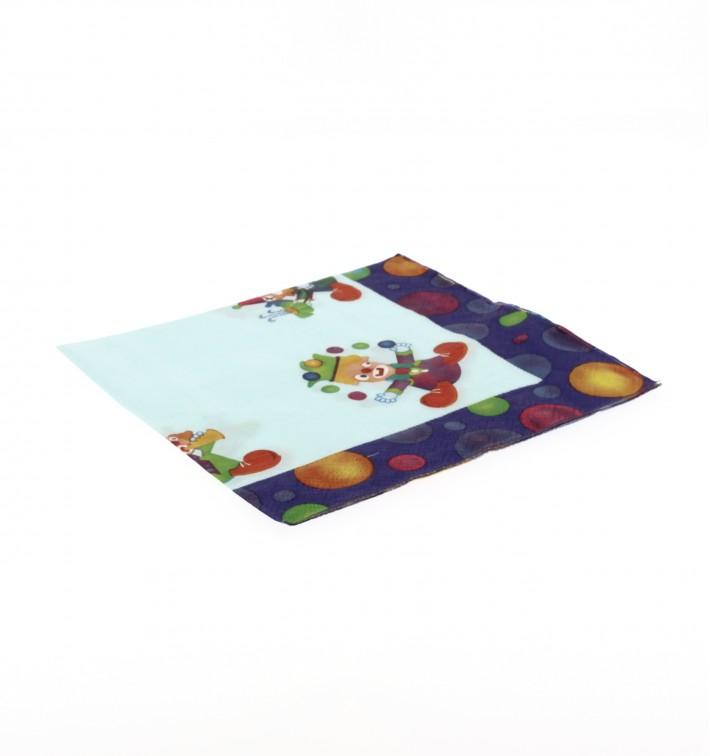 Serviette papier 33x33 Clown (500 Unités)