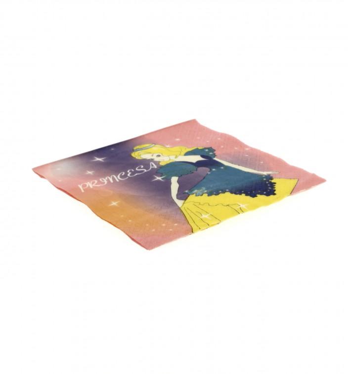 Papieren servet Princess Design 33x33cm (20 eenheden)