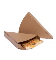 Gegolfde Pizza stuk doosje kraft Takeaway (350 eenheden)