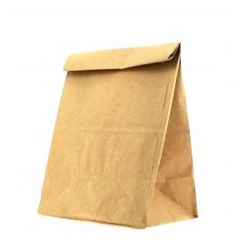 Sac en papier KRAFT sans anses 15+9x28cm (1000 Unités)