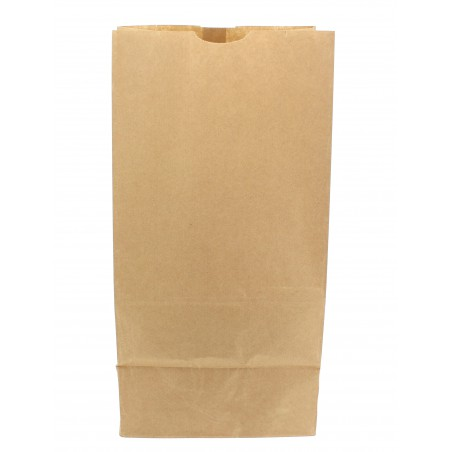 Sac en papier KRAFT sans anses 25+15x43cm (25 Unités)
