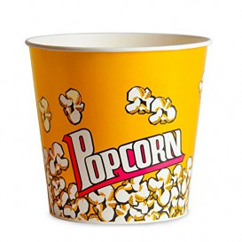 Etuis à Pop-Corn 1380ml 12,4x9x17cm (25 Unités)