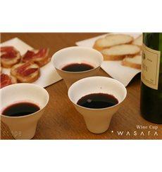 Gobelet Wine Cup Wasara Biodégradable 260 ml (50 Unités)