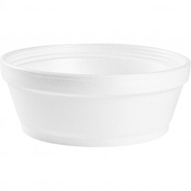 Pot en Foam Blanc 8OZ/240 ml Ø8,9cm (50 Unités)