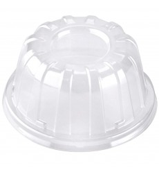 Couvercle Haute Plastique Transparent 105x60mm (100 Utés)