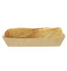 Barquette Kraft Hot Dog 17x5,5x3,8cm (25 Unités)