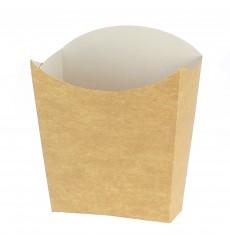 Papieren Container voor frietenkraft klein maat 8,2x2,2x9cm (600 eenheden)
