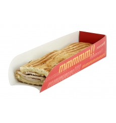 Emballage Hot Dog Design 17x5x3,5cm (100 Unités)