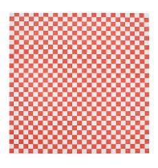 Papier Ingraissable Rouge 28x33cm (1000 Utés)