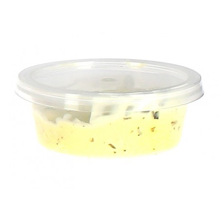 Pot à sauces en plastique avec COUVERCLE 85ml (100 Utés)