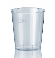 Verre à Shot en Plastique Dur 20ml (50 Unités)