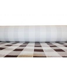 Nappe en papier en Rouleau Carré Marron 1x100m 40g (1 Unité)
