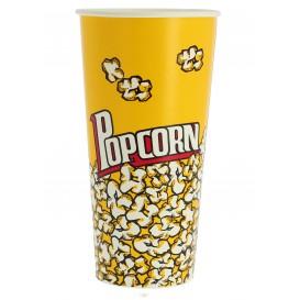 Papieren Popcorn doosje 720ml 9,6x6,5x17,7cm (50 stuks)
